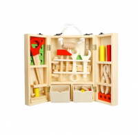 Kids Wooden Tool Box Set Photo