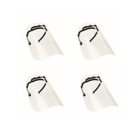 Face Shield Safety Visors - Pack of 4 Photo