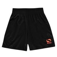Sondico Infant Boys Core Shorts - Black/FluOrange Photo