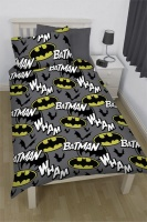 Batman 'Comic' Comforter Set Photo
