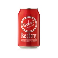 Bashews Bashew's Carbonated Soft Drink - Raspberry 24 x 330ml Photo