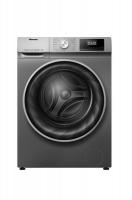 Hisense 10Kg Front Load Washing Machine with Allergy Steam-Titanium Silver Photo