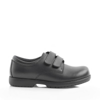 Green Cross 4173C Double Self-Fastening Strap Shoe Black Photo