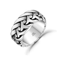 A.R.Z Steel Crossover Design Ring Photo