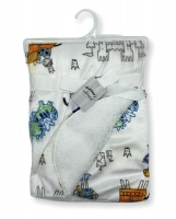 Mothers Choice Baby Blanket - Castle Print Photo