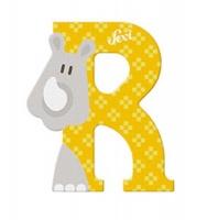 Sevi Wooden Letter R Rhinoceros Photo