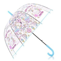 Blue Unicorn Umbrella Photo