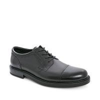 Green Cross GX & Co Men Formal Lace Up Shoes with Toe Cap - Black 7911 Photo