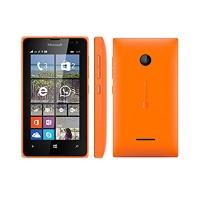 Nokia Lumia 435 Feature Single - Orange Cellphone Cellphone Photo