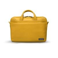 """Port Designs ZURICH 13/14"""" Toploading Case - Yellow Photo"""