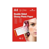MECOLOUR TT-GD120 A4 Double Sided Glossy Photo Paper 120g 50 Sheets Photo