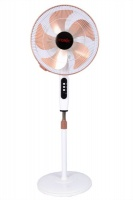 """Conic 16"""" 3-Speed Oscillating Standing Pedestal Fan - White Photo"""