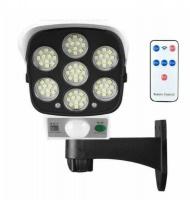Solar Sensor Security Light & Dummy Camera with Remote Photo