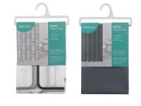 2 Shower Curtains.- Grey Photo