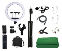 "Jack Brown 21"" Studio Video Creator Ring Light & Accessories Kit Photo"