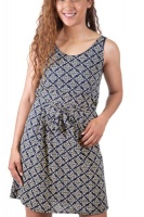 SKA Pattern Tie Back Dresses Photo