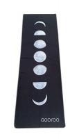 Gooroo Premium Yoga Fitness Towel   Moon Phases Photo