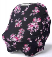 AGFA Baby Car Seat Cover Floral Photo