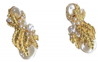 Royalty Collections Makhoti Pearl Earring Photo