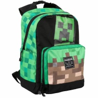 Minecraft - Creepy Things Backpack - Green Photo