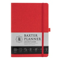 Christian Art Gifts Baxter Undated Planner - Red Photo