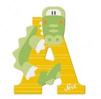 Sevi Wooden Letter A Alligator Photo