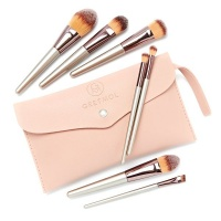 Gretmol Professional 7-Piece Make Up Brush Set Rose Gold with Pink Pouch Photo