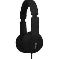 Maxell SMS-10 METALZ Mid Size Headphones - OBSIDIAN Photo