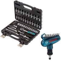 Bort - Tool Kit Set & Bosch Screwdriver Bit Set 10 Piece Photo