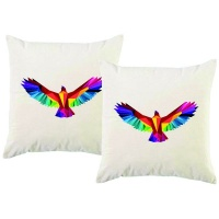 PepperSt – Scatter Cushion Cover Set – Geometric Eagle Photo