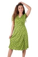 SKA Leaves Wrap Dresses Photo