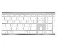 Macally Ultra slim Bluetooth keyboard - Aluminium Photo