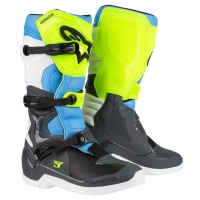 Alpinestars - Tech 3 Enduro/Mx Boots - Grey/Yellow/Cyan Photo