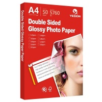 TECHNOLAB A4 Double Sided Glossy Photo Paper - 50 sheets - 200gsm Photo