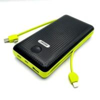 Andowl Q-T70 20000mAh Portable Power Bank - Mobile Battery - Carbon Photo