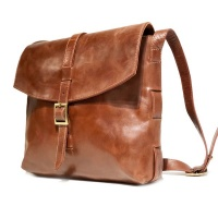 Nuvo - Genuine leather Messenger bag with buckle SAM-02 Photo