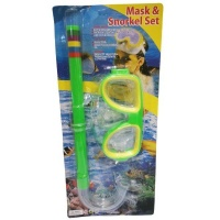 SourceDirect Mask And Snorkel Set - Green Photo