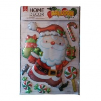 Large Santa Clause Decoration Balloon Stickers Photo
