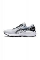 ASICS Women's GEL-KAYANO 27 PLATINUM Running Shoes - Grey Photo