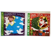 SourceDirect - Oversized Christmas Cards - Pack of 10 Cards Photo