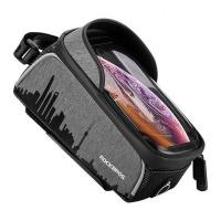Rockbros Top Tube Waterproof Bicycle Bag for Phones Below 6.0'' Photo