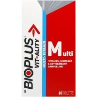 Bioplus Vit-ality Vitamin & Mineral Supplement Multivitamin Tablets 60 EA Photo