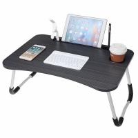 Maisonware Foldable Laptop Desk Stand with 4 USB Ports Photo