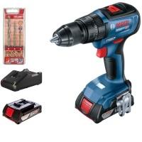 Bosch - Cordless Drill Combo & Alpen Masonry Drill Bits Photo