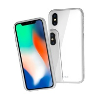 SBS Vitro Case for iPhone XS/X in white Photo
