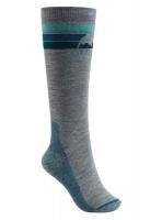 Burton Womens Emblem Socks - Grey Photo