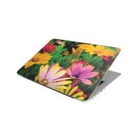 Laptop Skin/Sticker - White and Purple Flowers Photo