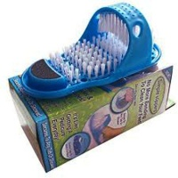 simple slippers -clean exfoliates and massages Photo