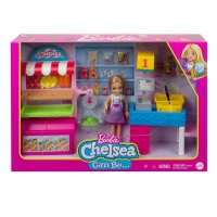 Barbie Chelsea Can Be Supermarket with Blonde Chelsea Doll & Snack Stand Photo