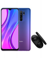 Xiaomi Redmi 9 64GB Sunset Purple True Wireless Earbuds Basic 2 Cellphone Cellphone Photo